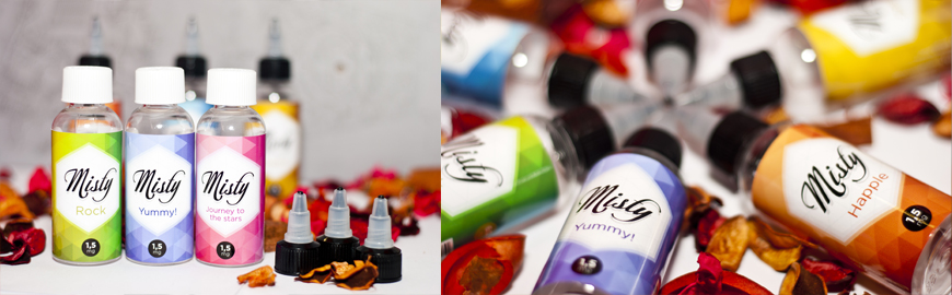 Жидкость для электронных сигарет Misty