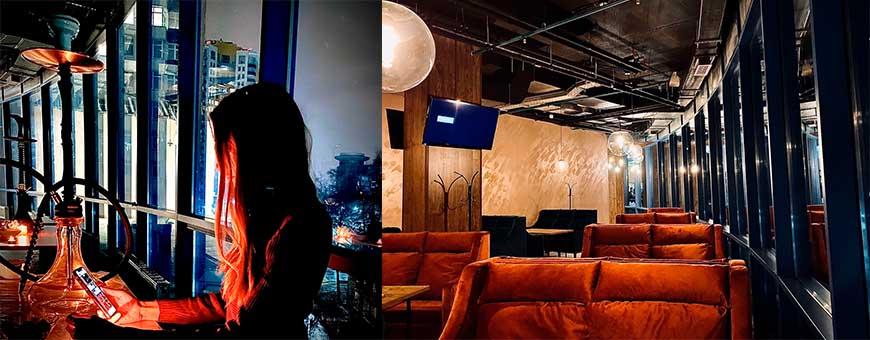 Интерьер кальянной Kot Lounge bar вид 2