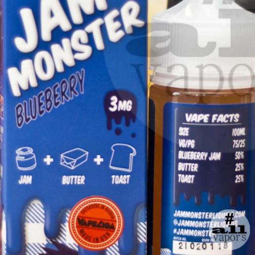 fba5a9d14911 Жидкость Jam Monster Blueberry - Интернет-магазин «Allvapors»