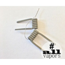 Staggered Fused Clapton 6 витков, 2 шт (№14)