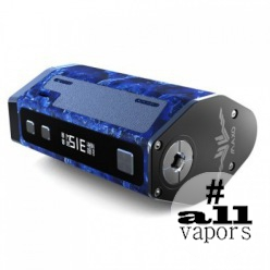 Maxo Quad 18650 box mod blue limited version
