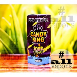 Candy King Sour Worms 100 мл.