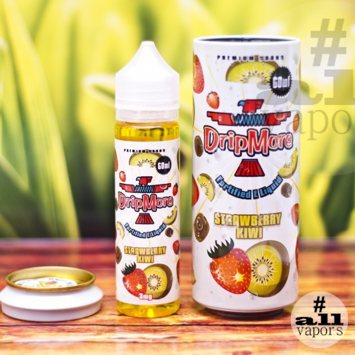 Жидкость Drip More Strawberry Kiwi 60 мл-Фото 894