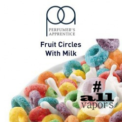 Ароматизатор TPA Fruit Circles Flavor with Milk 10 мл