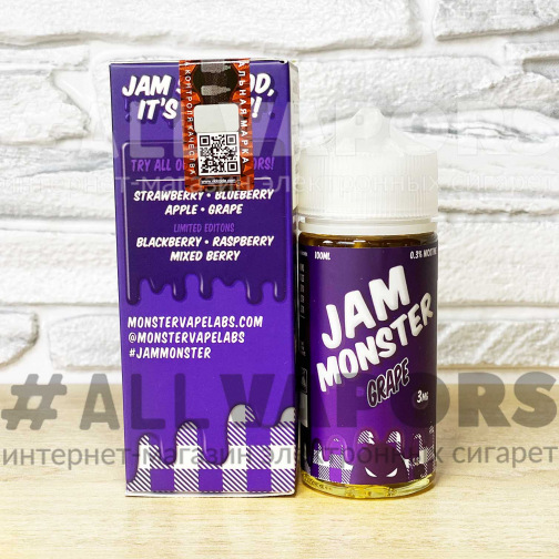 Жидкость Jam Monster Grape 100 мл-Фото 2228