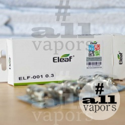 Испаритель Eleaf ELF-001 0.3ohm для Eleaf iJust S/iJust 2