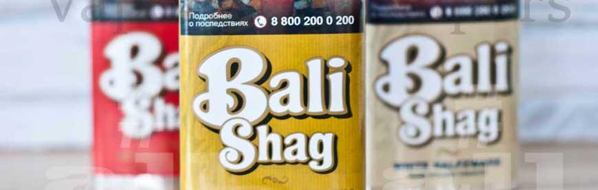 Обзор популярных вкусов линейки табака Bali Shag